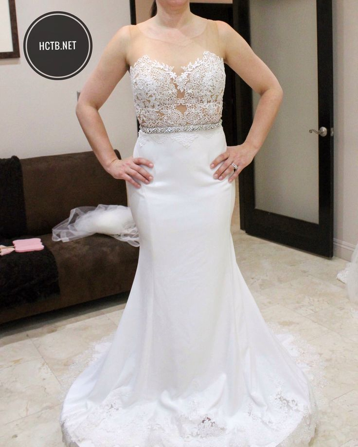 Wedding Dress at Here Comes the Bride in San Diego, California. Beautiful Wedding Dresses and Bridal Gowns in San Diego.