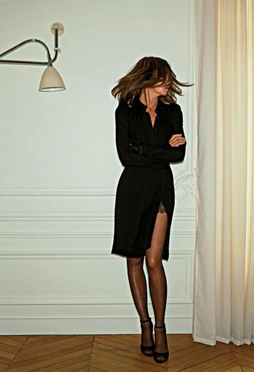 Chic To Chic: Carine Roitfeld By KalRuttenstein - Journal - I Want To Be A Roitfeld