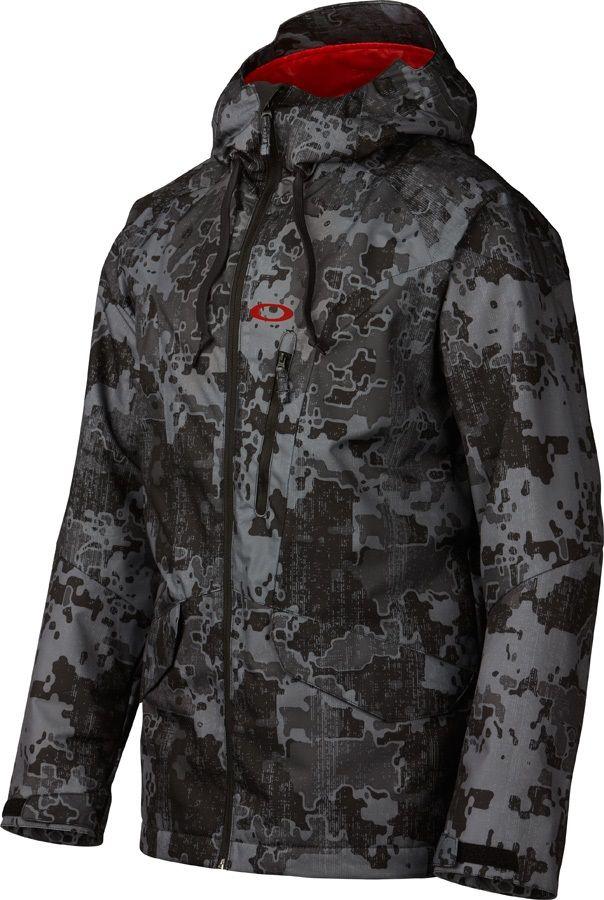 Oakley MISSION Men's Ski & Snowboard Jacket, S, Black