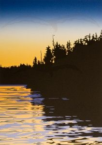 King Pacific Sunset - Roy Vickers
