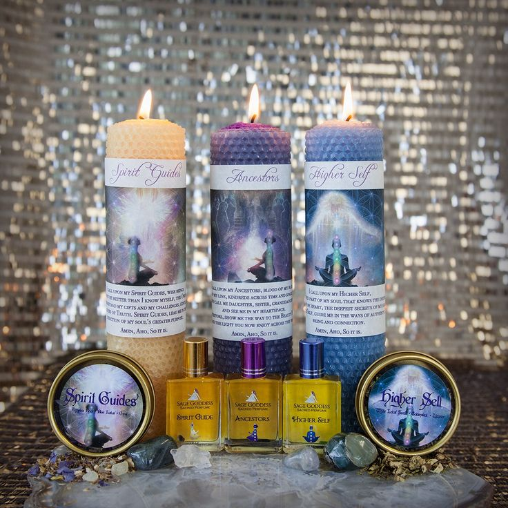 October Full Moon Kit honoring your Higher Self and Spirit Guides