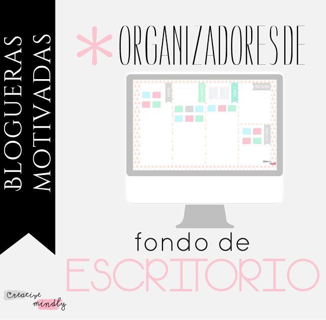 Creative Mindly: Organizadores de fondo de pantalla
