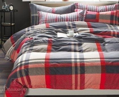 Купить постельное белье из фланели SCOTISH евро от производителя Asabella (Китай)