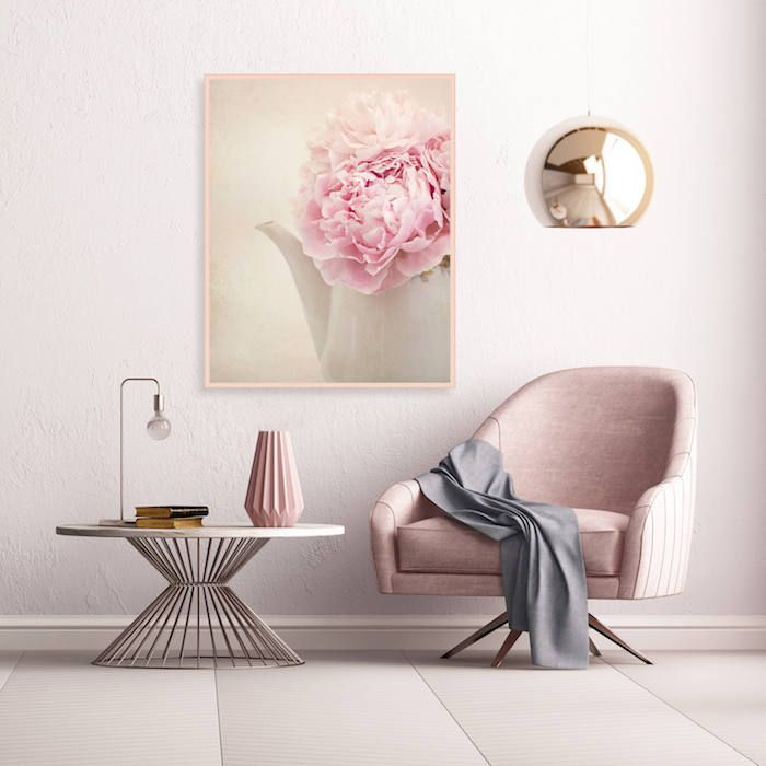 les 25 meilleures id es de la cat gorie murs roses sur pinterest chambres r tros d coration d. Black Bedroom Furniture Sets. Home Design Ideas