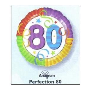 """Perfection 80 Mylar Balloon 18"""""""
