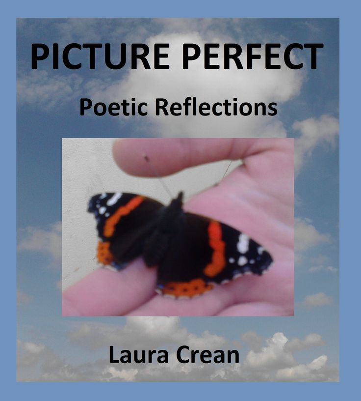 A selection of poetry and inspirational snapshots.  A philosophical journey of daydreams and poetic musings for any lover of poetry. http://www.lulu.com/shop/laura-crean/picture-perfect/paperback/product-20320938.html