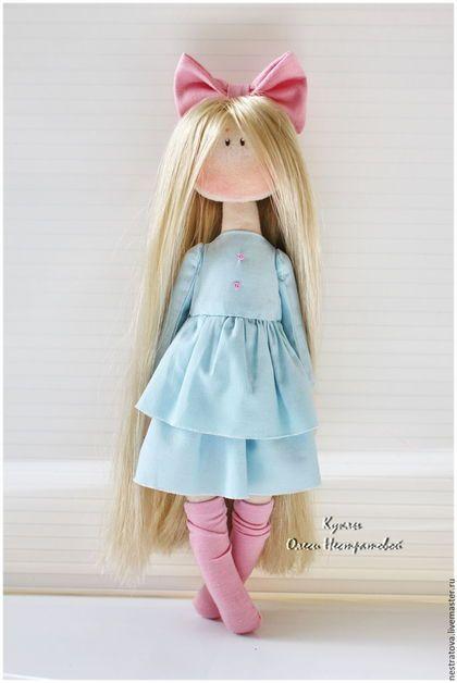 Коллекционные куклы ручной работы. Асель. Интерьерная кукла. Олеся. Ярмарка Мастеров. Текстильная кукла, подарок женщине, подарок дочке