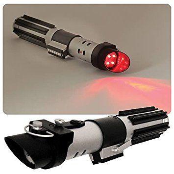 "Star Wars Lightsaber Flashlight - Darth Vader - 10"" with Working Lightsaber Sound Effects"