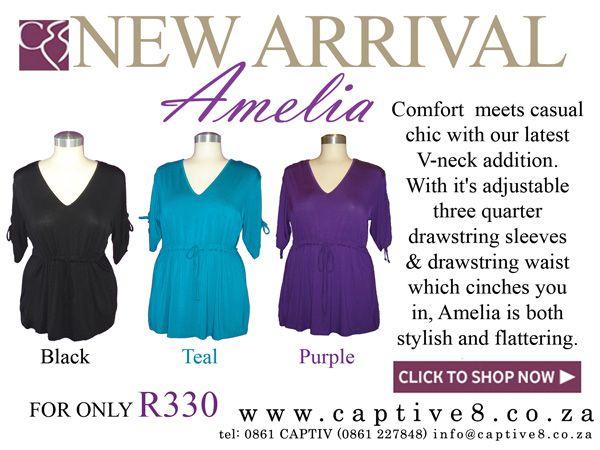 Amelia Top from Captive8 - www.captive8.co.za