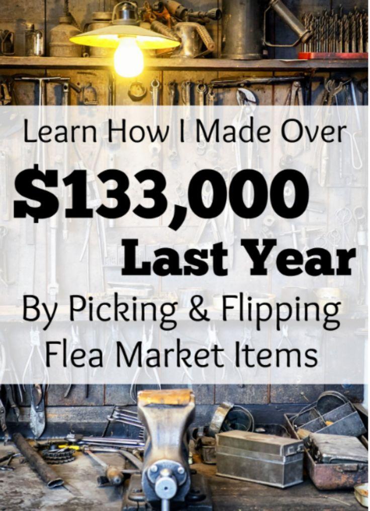 Flea Market Flipper - Learn how to make money flipping flea market finds. **Affiliate