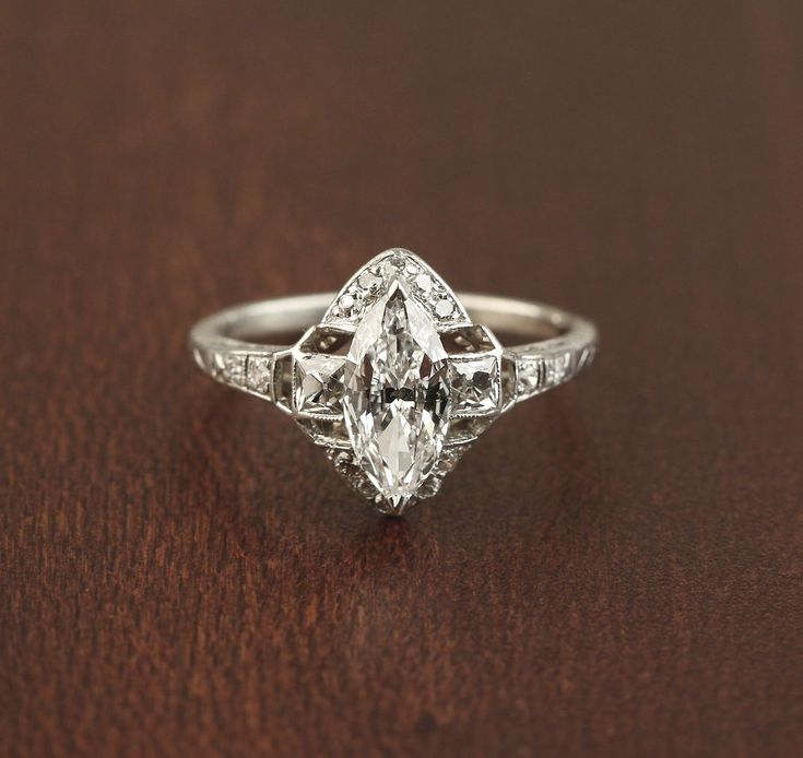 Best 25 Marquise Diamond Rings Ideas On Pinterest Marquise Ring
