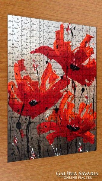 Puzzle - kortárs művész festménye a kirakón 9.