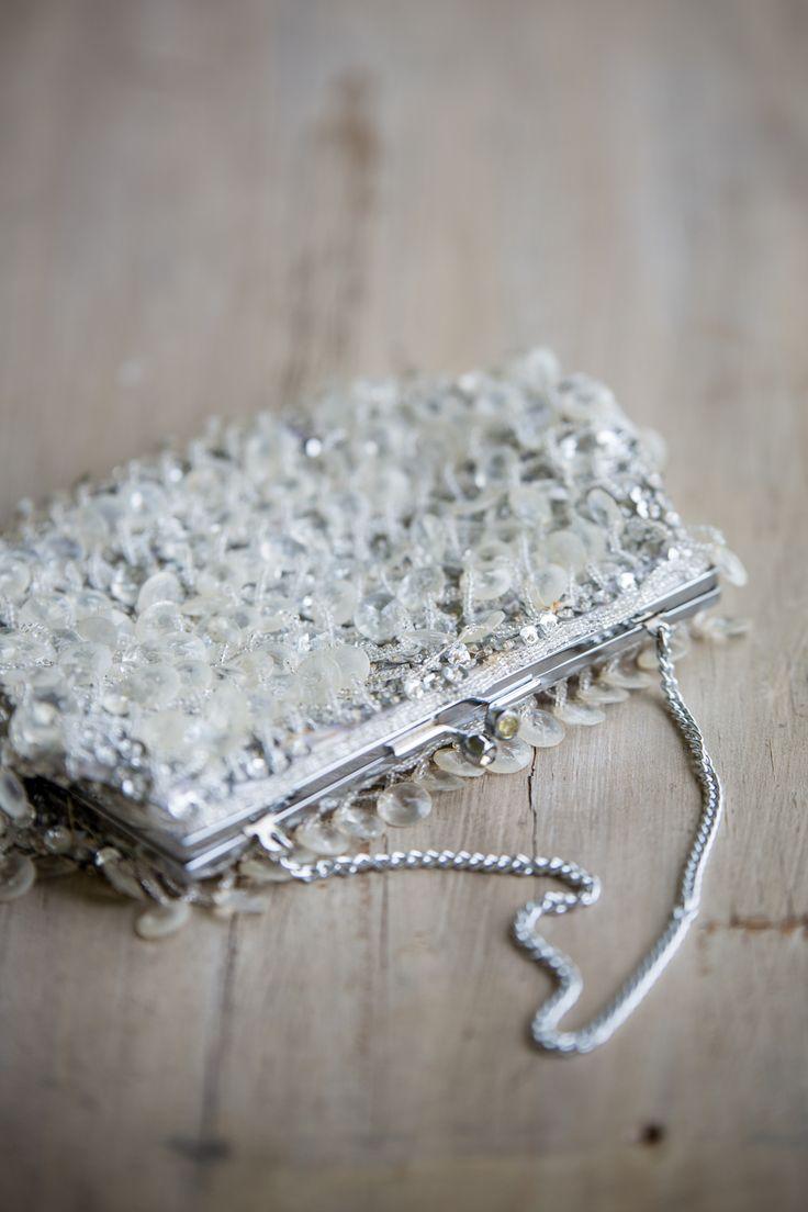 SOMETHING OLD, something new, something borrowed, something blue...Grand mama's handbag...so special.