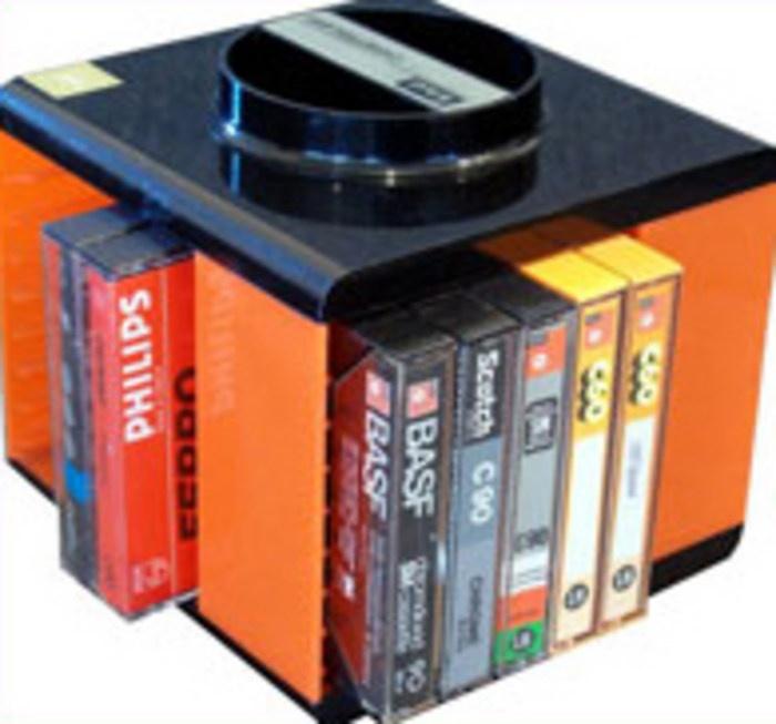 Le distributeur de cassettes