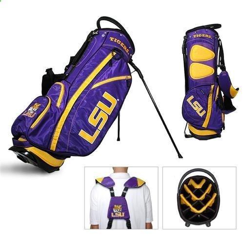 Golf Bags - LSU Tigers Louisiana State Standup Golf Bag - Golf Stand Bag