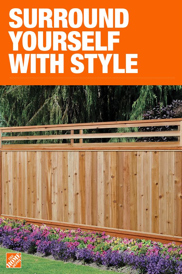The Home Depot Has Everything You Need For Your Home Improvement Projects Click To Learn More An Privacy Fence Designs Backyard Landscaping Designs Wood Fence