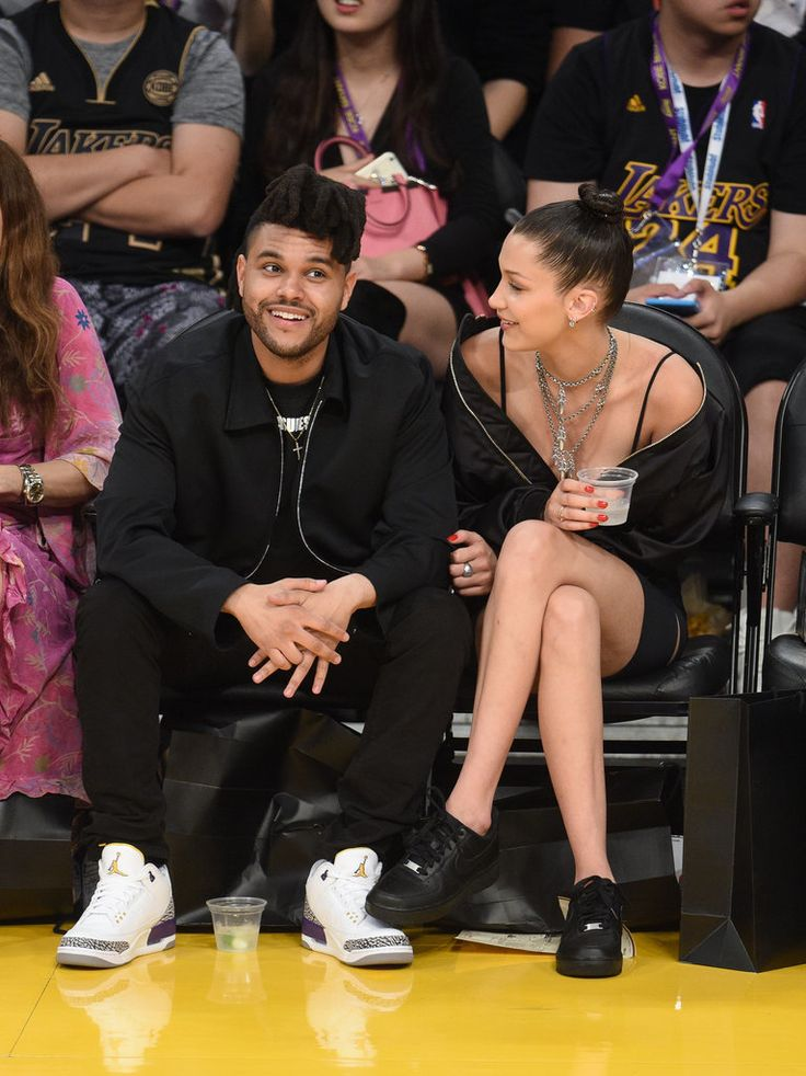 The Weeknd and Bella Hadid look so in love.