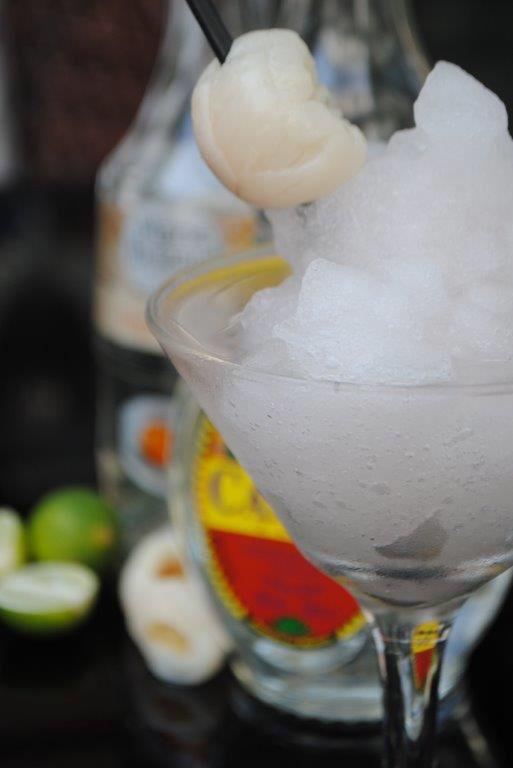 Frozen Lychee Margarita