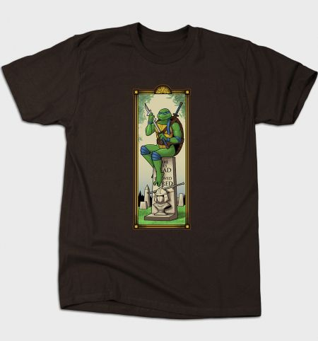 Here Lies Shredder T-Shirt - TMNT T-Shirt is $12 today at Busted Tees!
