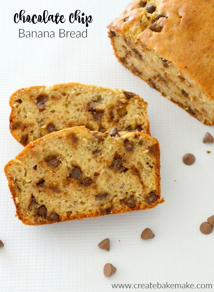 Thermomix Chocolate Chip Banana Bread Recipe
