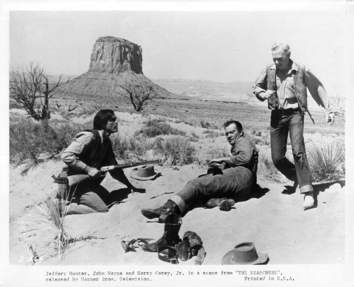 the searchers film report Movie house memories on the mhm podcast network reviews 1956's the  searchers directed by john ford and starring john wayne, jeffrey.