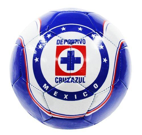 Cruz Soccer Ball-Home (Silver, 5) by Rhinox. $17.95. Size 5. Made of Non-Toxic PVC. Officially Licensed. Cruz Azul Silver #5 Soccer Ball-HOME