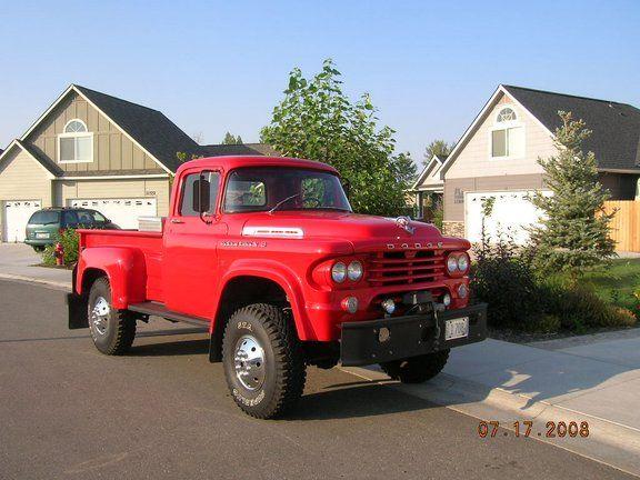 1958 Dodge Power Giant Power Wagon