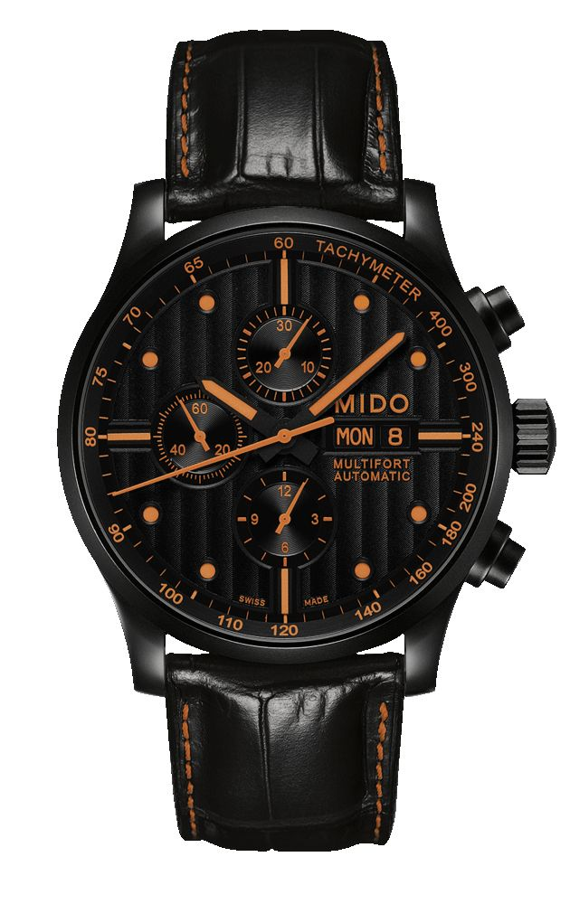 REALLY like this new MIDO, and in my signature accent color. Multifort Chronograph.
