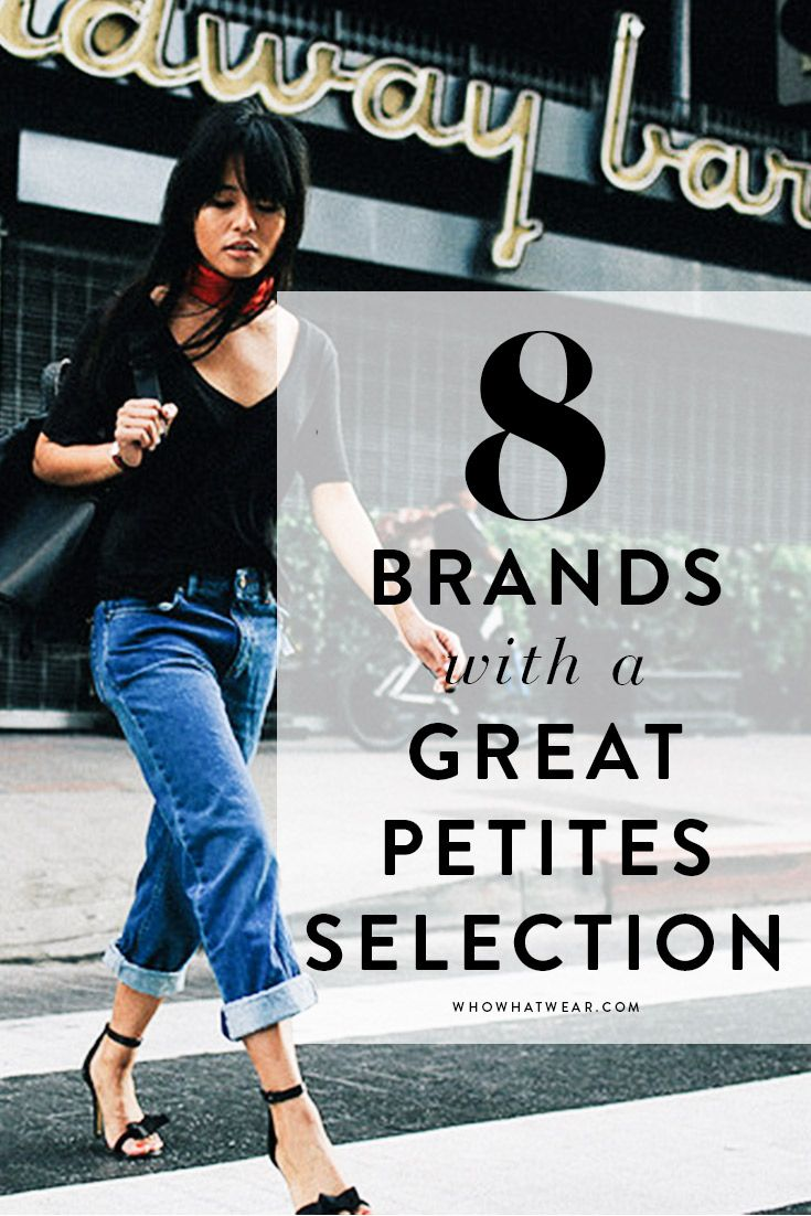 8 top brands with amazing picks for petite girls