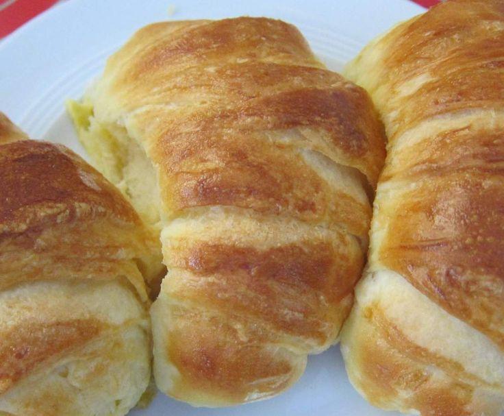 Rezept Knusprige Hefecroissants (von Slava) von pmailaender - Rezept der Kategorie Brot & Brötchen