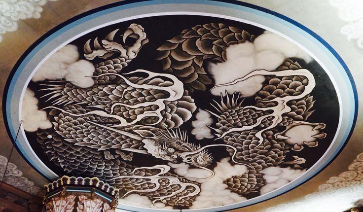 建長寺の天井画