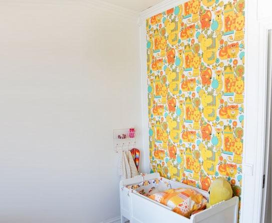 Vintage Kidu0027s Room Wallpapers
