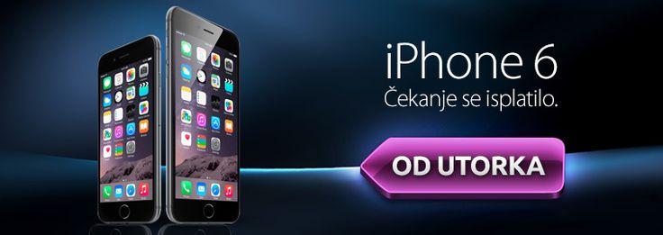 Novi iPhone 6 i 6 Plus od utorka u HG Spotu!