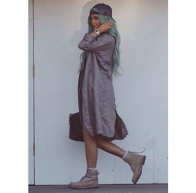 Omg Kylie rock's the new hair colour