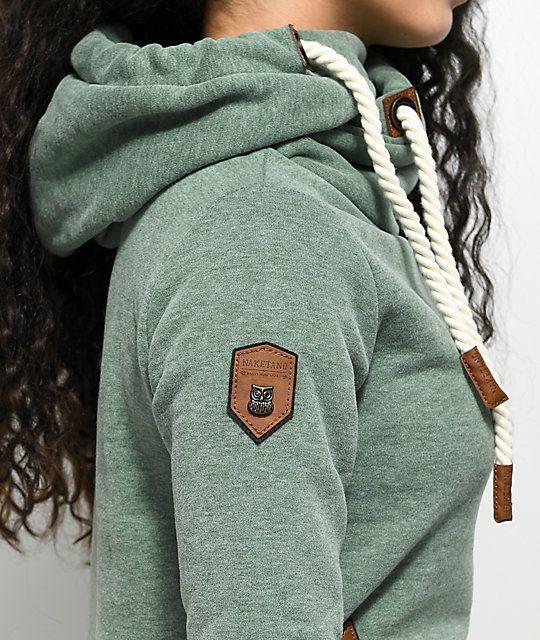 275e6349d9 Naketano Darth X Leaf Green Hoodie