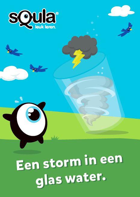 Een storm in een glas water