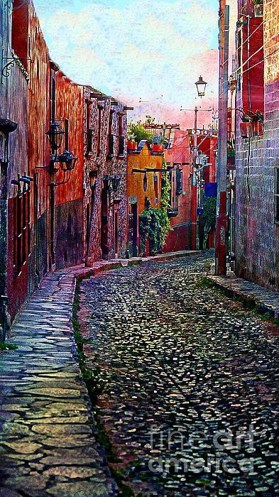 twilight in san miguel de allende, mexico