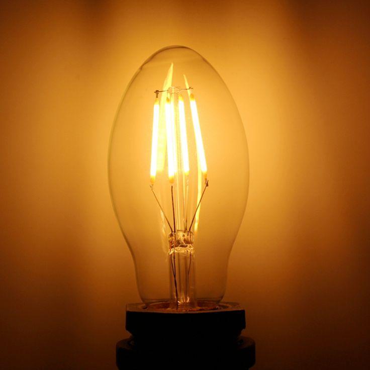 40 Watt equivalent C55 led edison filament bulb    Model NO. C55   Power: 3.5Watt (40 Watt equivalent)   Voltage: AC110-130V ;AC220-240V   Base: E27/E26   Size: Φ35*100mm   CCT: 2700K/2200K/4000K/6000K   LED QTY 2PCS   Material : Sapphire/Ceramic   Lumens: 90-110LM/WATT   CRI(Ra): 80/90   Cover: Clear/Milky White/Frosted/Amber   Suport dimmer Yes, dimmable   Packing: Inner box: 62*62*155mm  100pcs/Ctn 65*34*32cm  7.5kg/ctn   W...