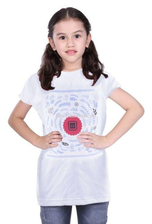 Kaos anak TDL 18-133 combed cotton putih 2-6. Rp 113.600....