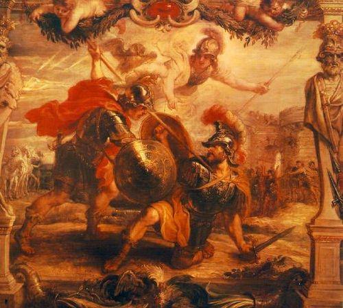an analysis of the bloody war in the iliad epic by homer in ancient greece Homer's epic poem the iliad tells the story of his adventures during the last year of the trojan war  this war lasted for 10 bloody years  greece-straddles the history and mythology of.