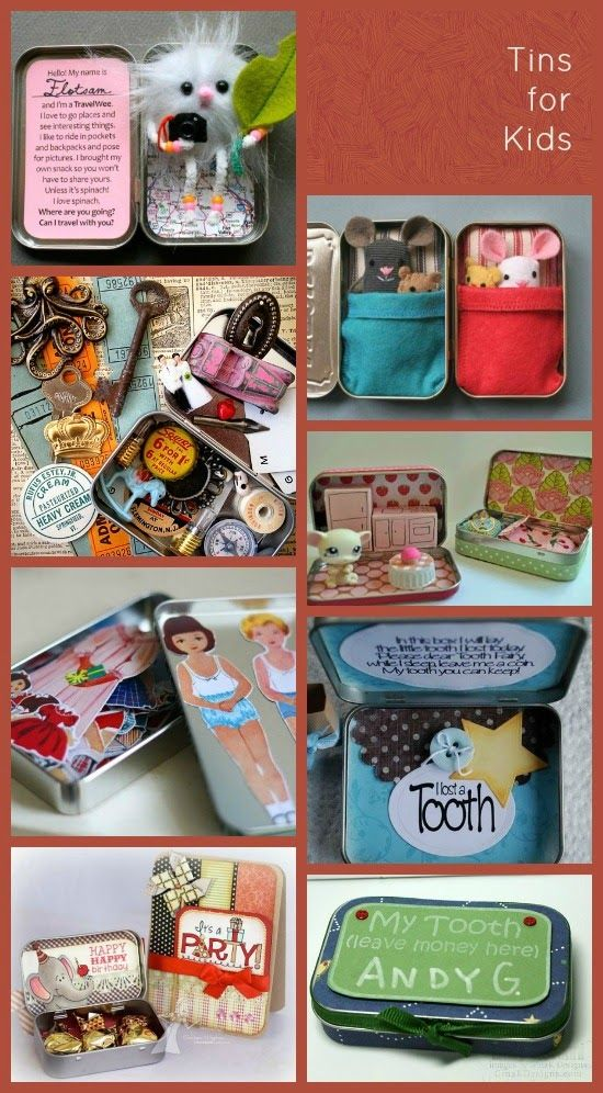 ReUse Altoids Tins! Crafty Fun Ideas for Kids!