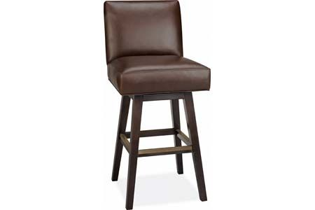 Lee Industries L SW Leather Swivel Bar Stool light finish on legs and lighter leather bone or grey Stools Pinterest