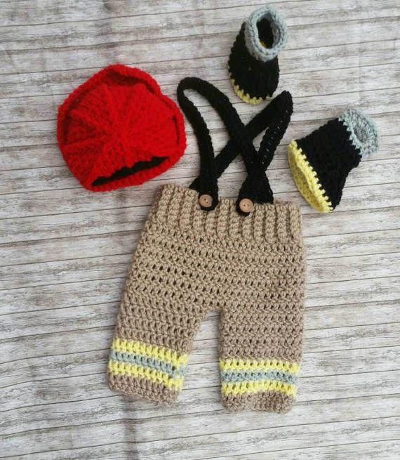 Newborn Fireman Outfit - 20% OFF