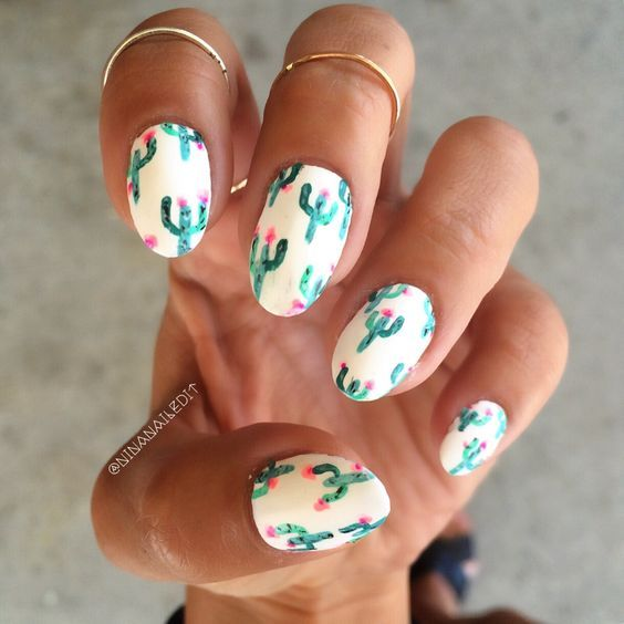 This cactus mani has completely nailed it, tbh