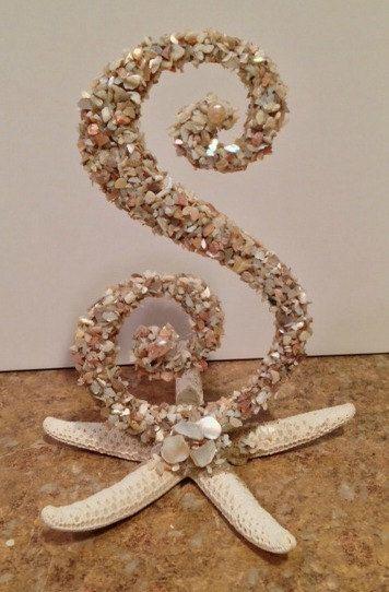 CAKE TOPPER NAUTICAL Wedding Beach Wedding Sea by OHONEFINEDAY, $42.00