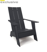 For the front porch: Lounges Chairs, Adirondack Chairs, Lookout Mountain, Slats Adirondack, Outdoor Chairs, Mountain Ranch, Recycled Hdpe, Ranch Ideas, Front Porches