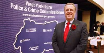 West Yorkshire Police and Crime Commissioner visit to The Rotary Club of Roundhay