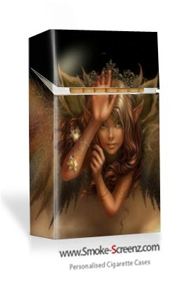 Mystical cigarette pack case made via www.smoke-screenz.com - Designs are only limited by your imagination!