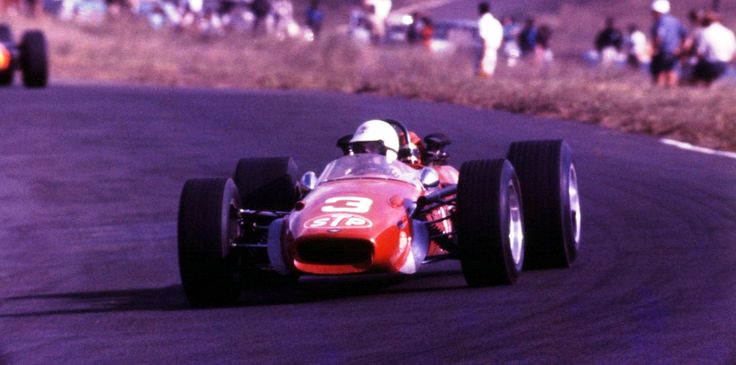 Von Rouen at the 1968 Easter races in South Africa.