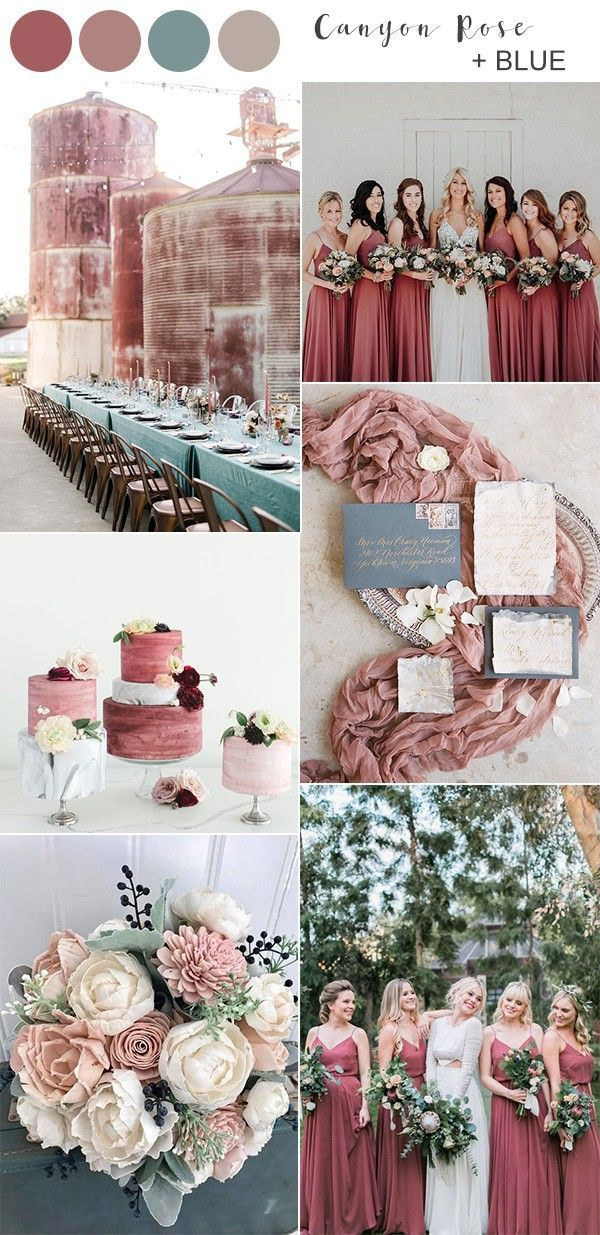 Top 10 Fall Wedding Colors For 2020 Trends You Ll Love With